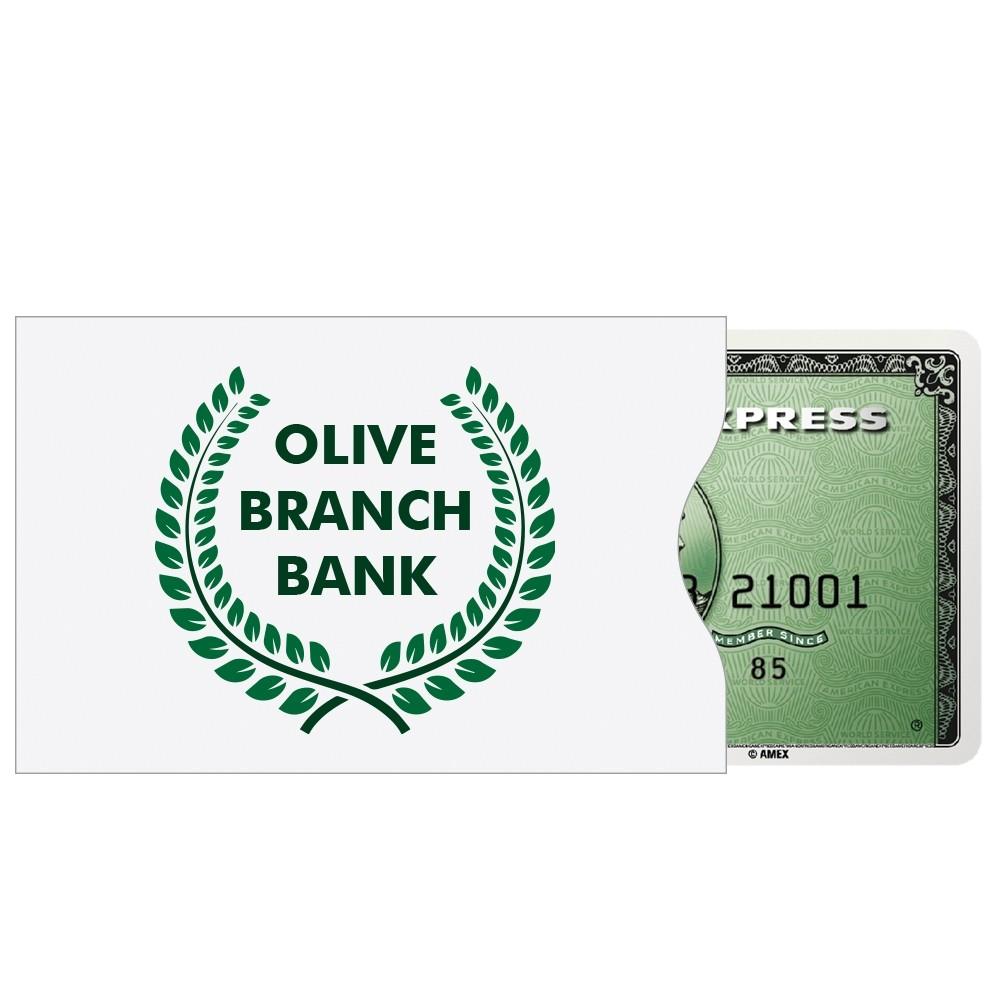 TYVEK® Debit Card Sleeves - 2 Color Custom Printed
