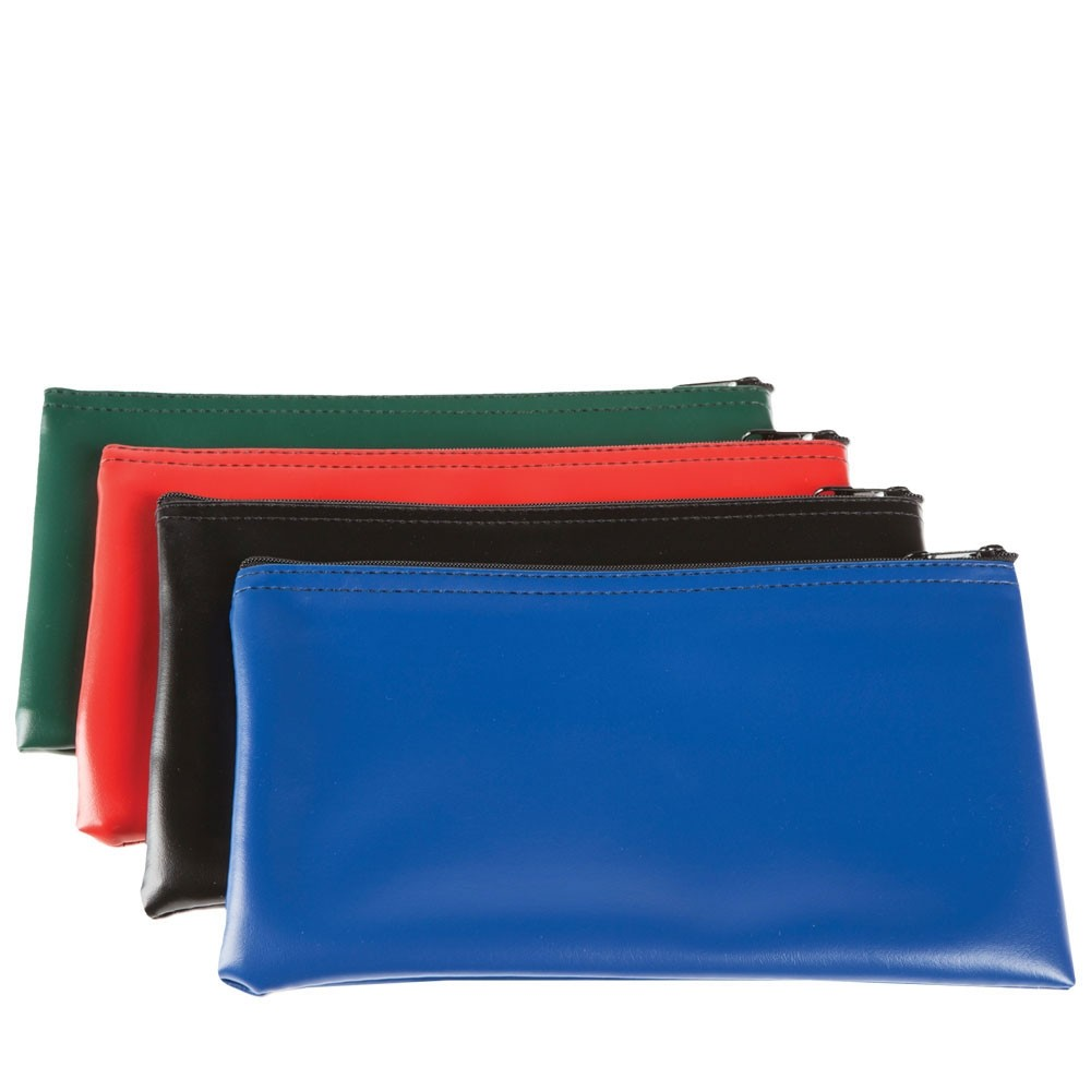 11W x 6H Vinyl Zipper Bags - Ready to Ship