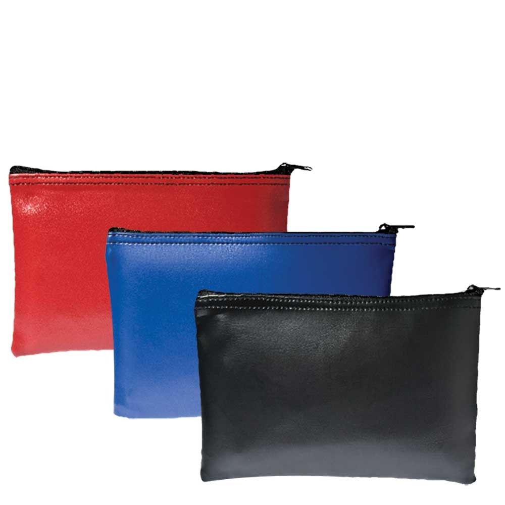 5 in W x 3 in H Expanded Vinyl Zipper Bags - Ready to Ship