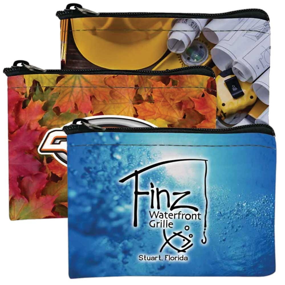 Full Color 5W x 3H Zipper Bag - Made to Order
