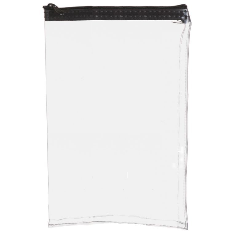 9W x 12H Clear Vinyl Vertical Zipper Bag - Made to Order