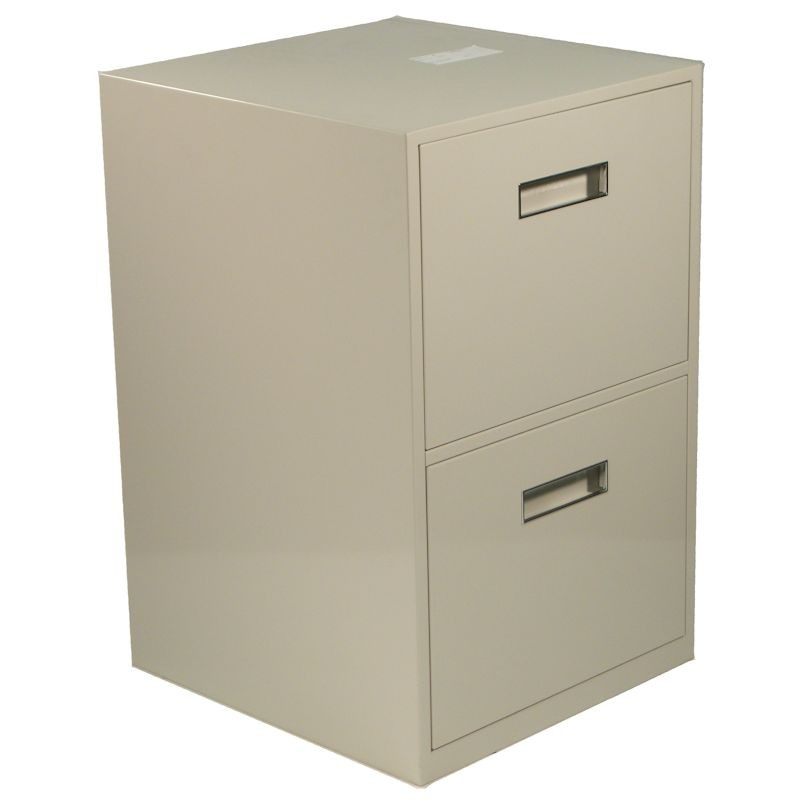 Fenco Lowboy Pedestal, (2) Legal Drawers
