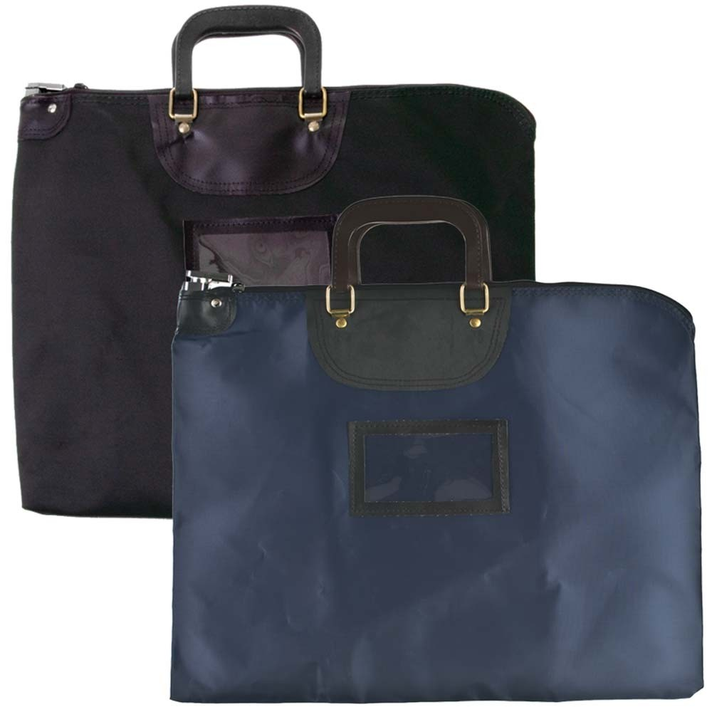 19 W x 15 H HIPAA Locking Courier Bags w/ Handles - Ready to Ship