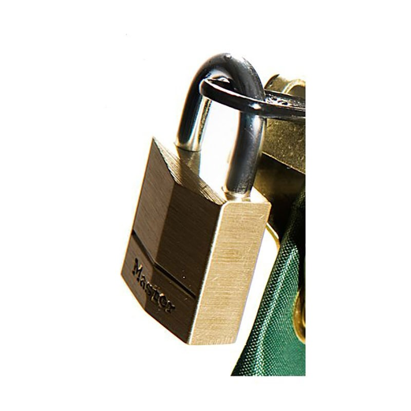 Master 3/4in Brass Padlock