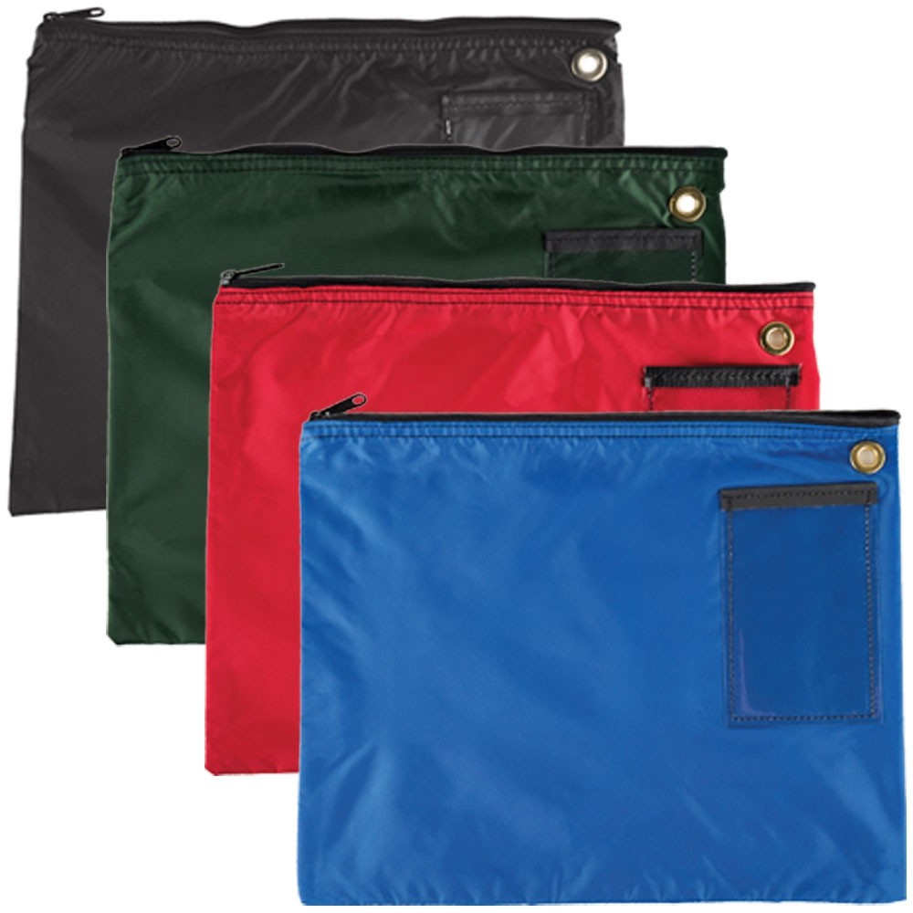 18W x 14H 200D Nylon Large Zipper Bags - Ready to Ship