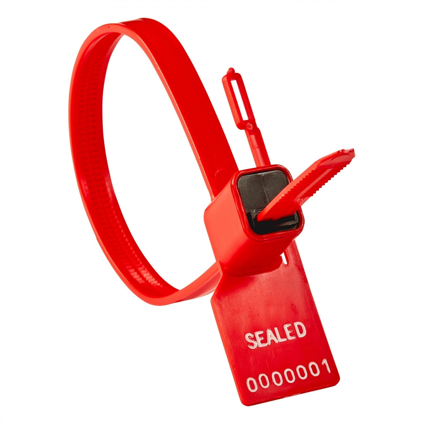 Red Heavy Duty Security Seals - 100 lbs Breaking Strength