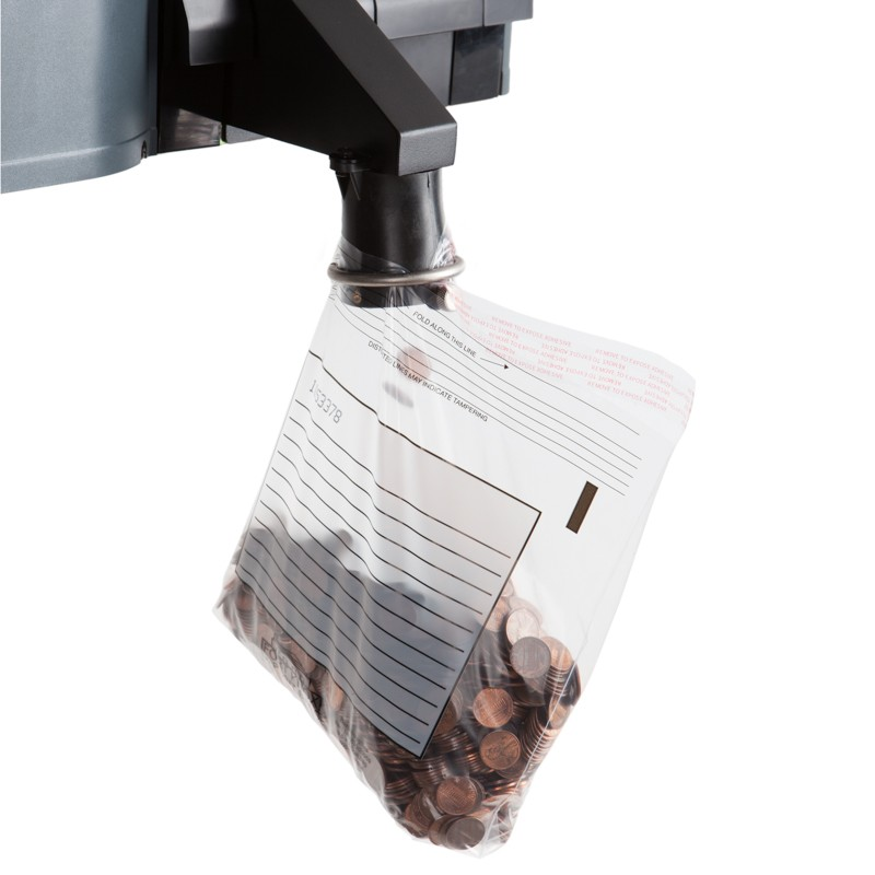 9-1/2W x 9H x 2D Easy Pour Coin Bags