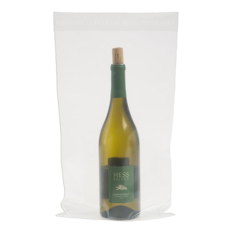 9W x 17H Wine Doggy Bags