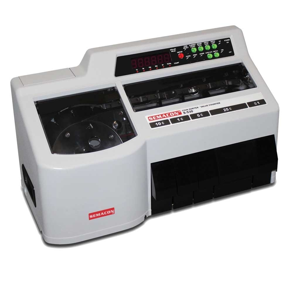 Semacon S-530 Coin Counter/Sorter
