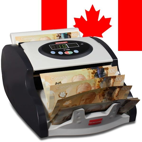 Semacon S-1000 Canadian Currency Counter