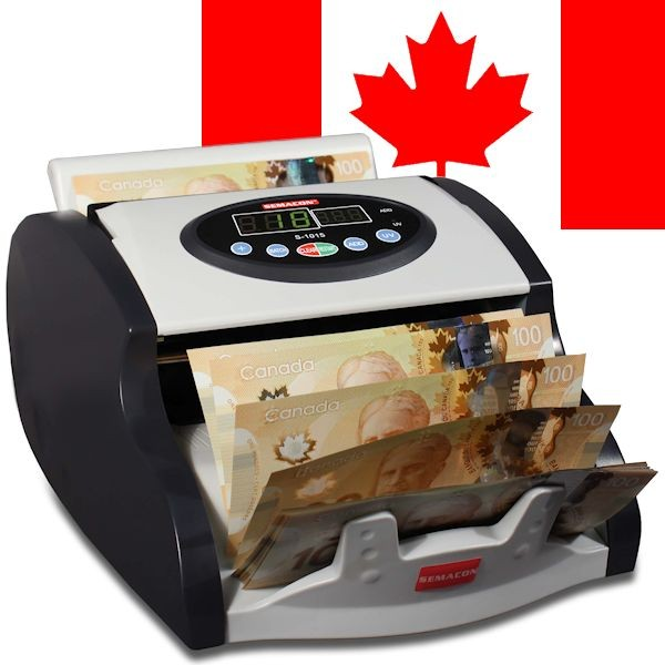 Semacon S-1015 Canadian Currency Counter