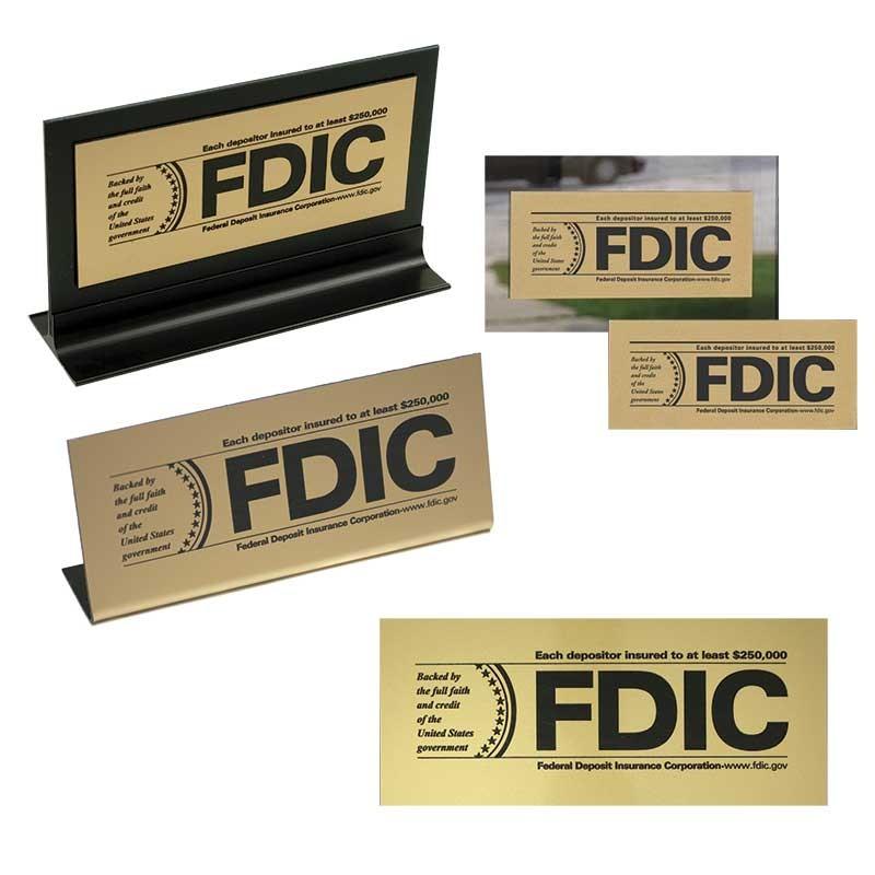 FDIC Signage