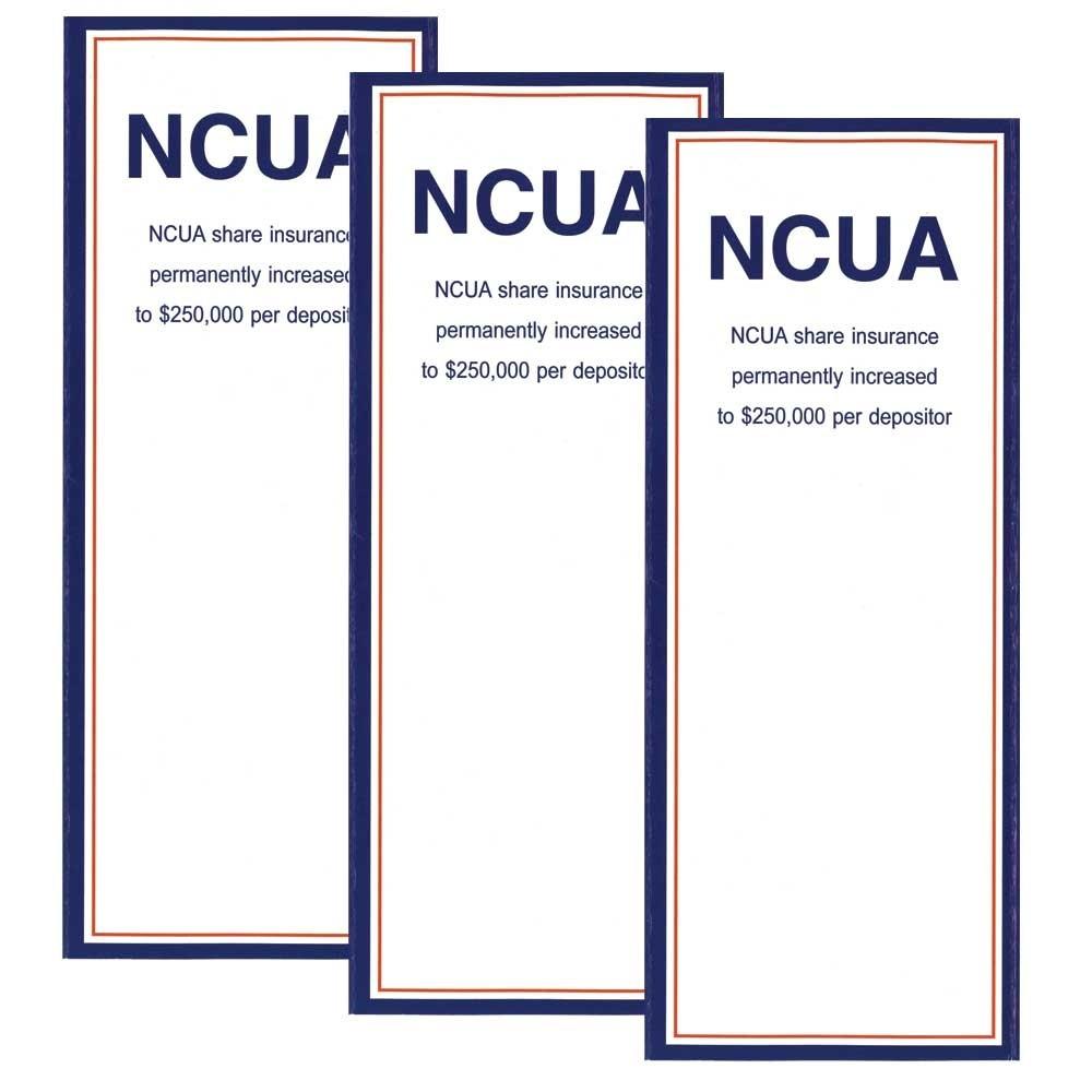 NCUA Brochure - Folded 4 Panel Brochure