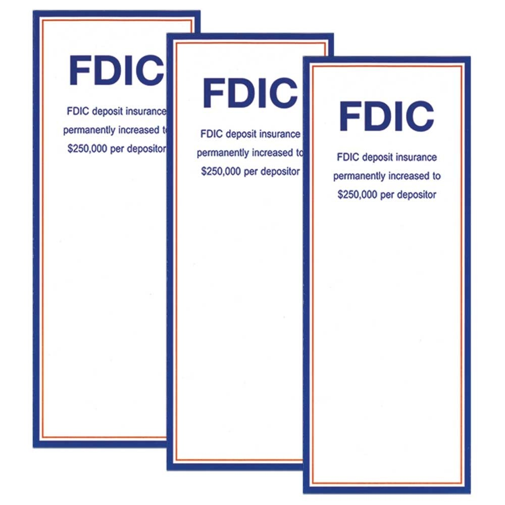 FDIC - JOINT & POD 4 Panel Brochure Folded