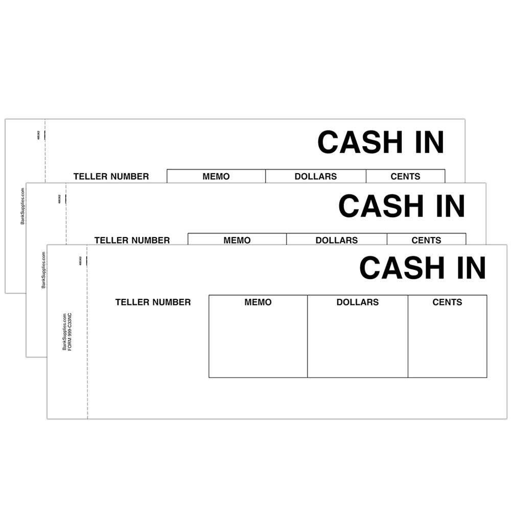 Cash In Ticket- Black