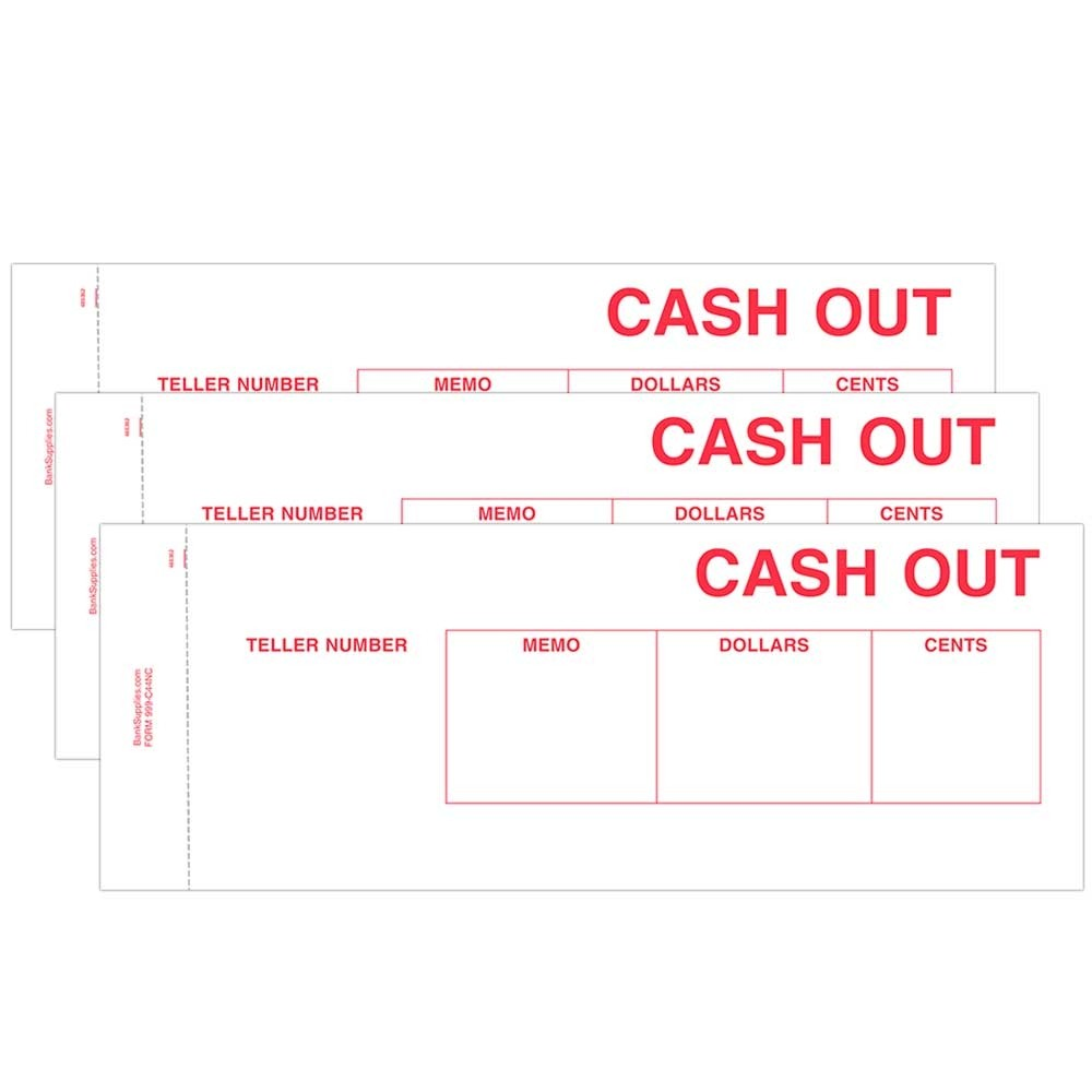 Cash Out Ticket- Red