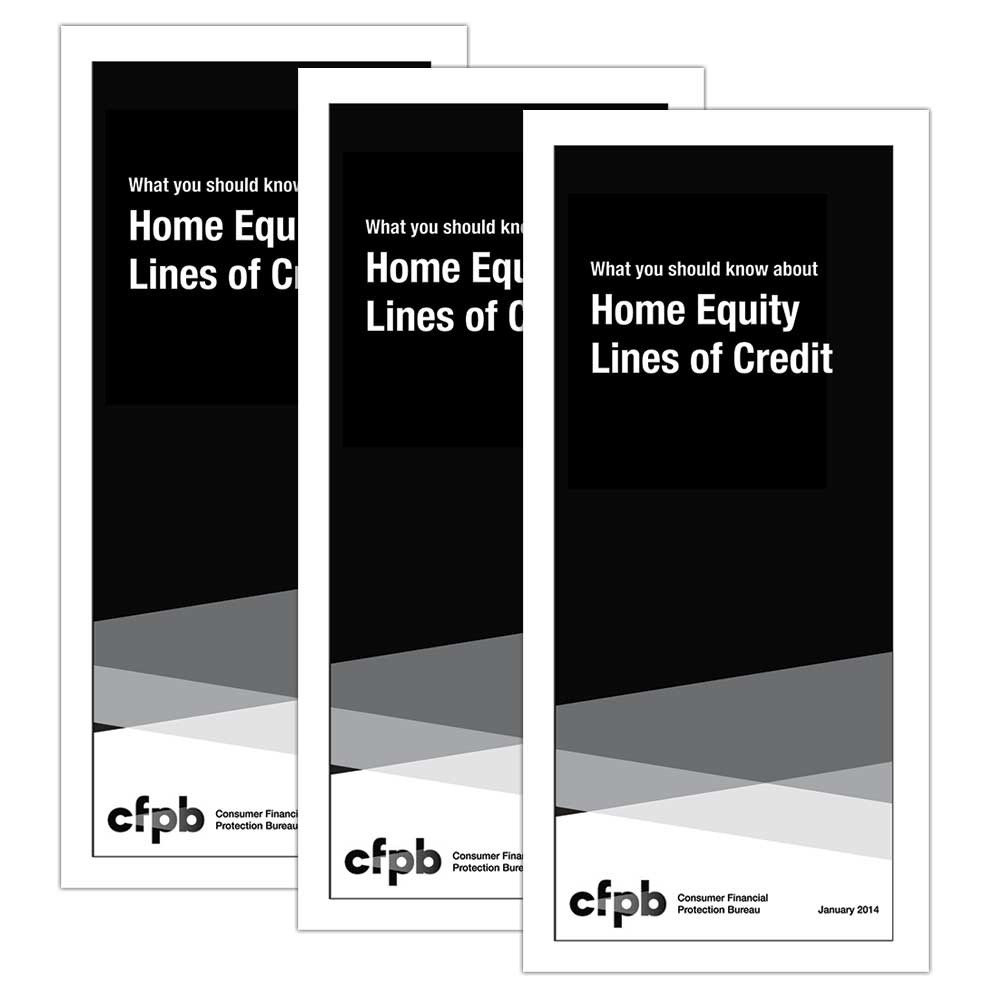 Home Equity Booklet (HELOC) Mortgage Booklet