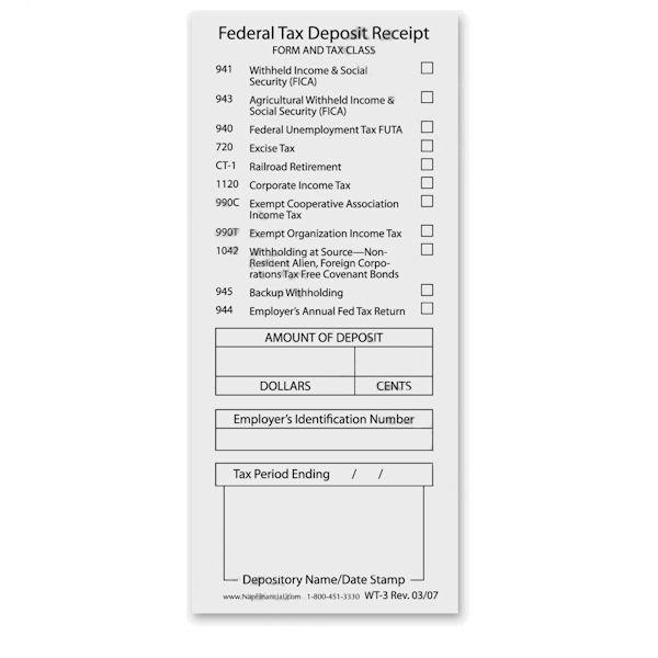 Federal Tax Deposit