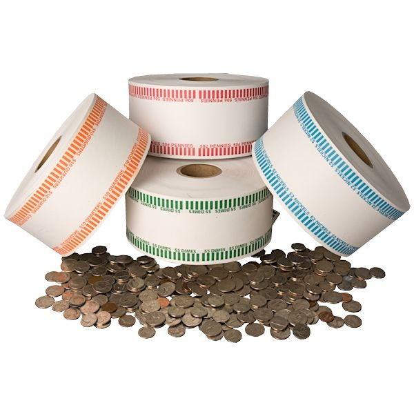 Automatic Coin Wrap Rolls - 500 ft.