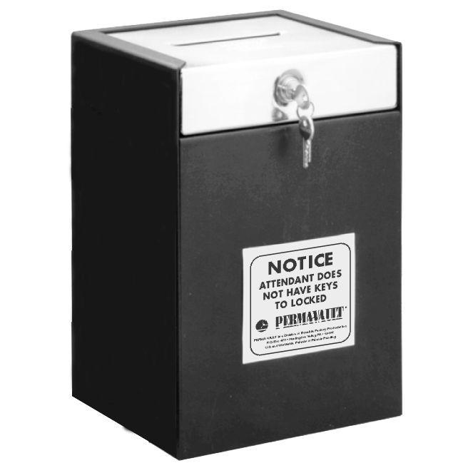 Medeco Lock Drop Box - 10W x 14-1/2H x 8D